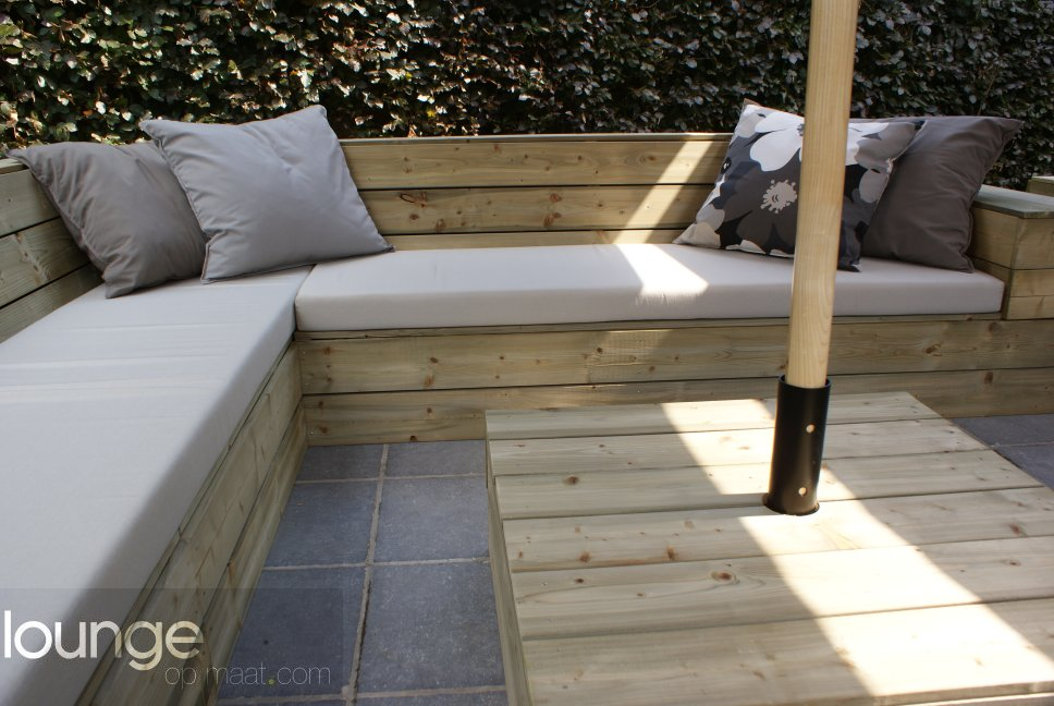 Loungeset Tuin Hout : Loungeset hout tuin elegant loungeset hout tuin with loungeset