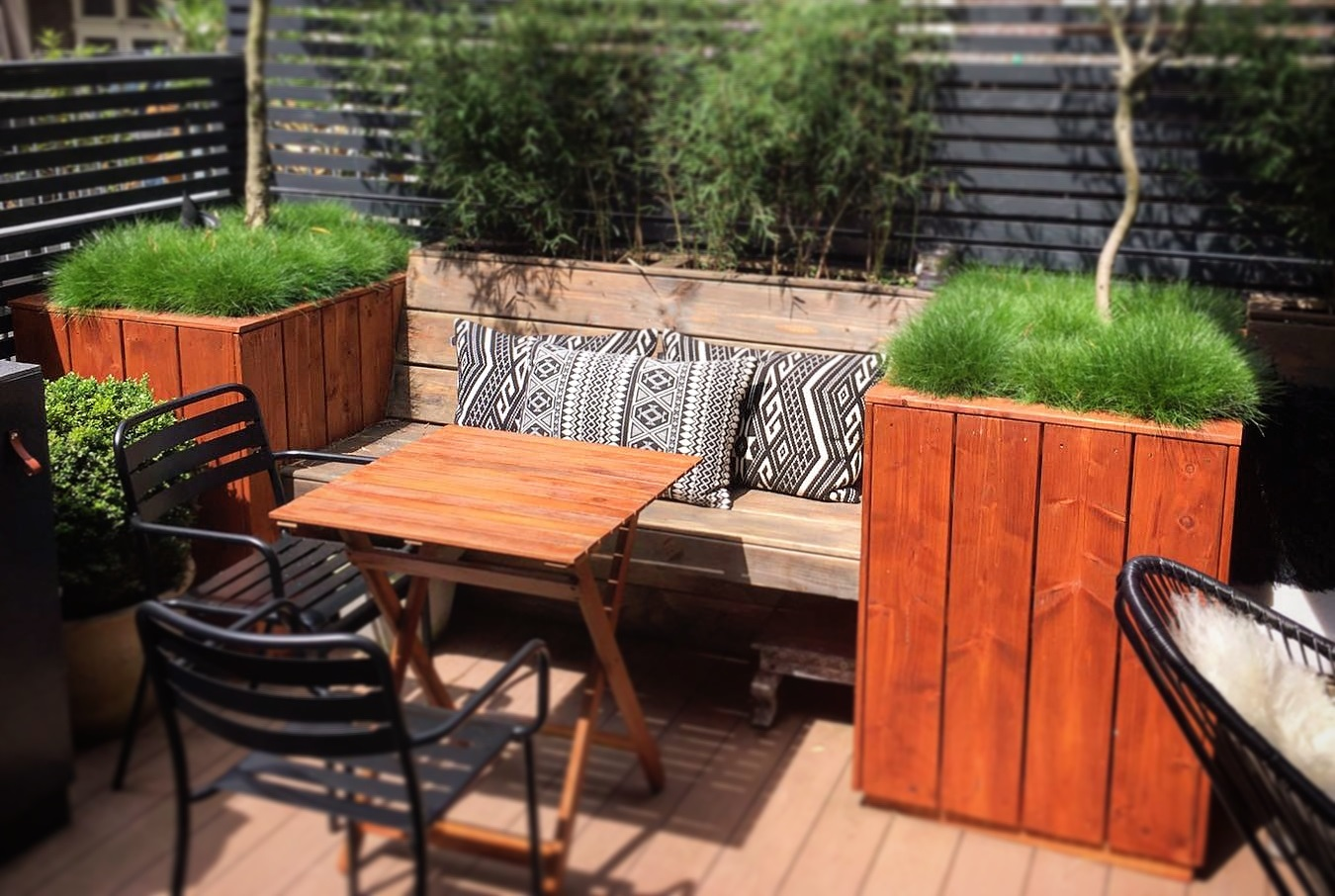 Loungeset Tuin Hout : Loungebank tuin hout. simple tuin terras with loungebank tuin hout
